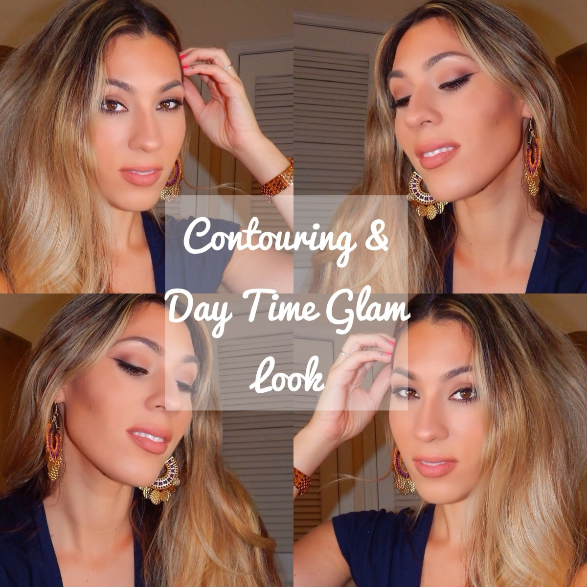 Contouring & Day Time Glam Makeup Look