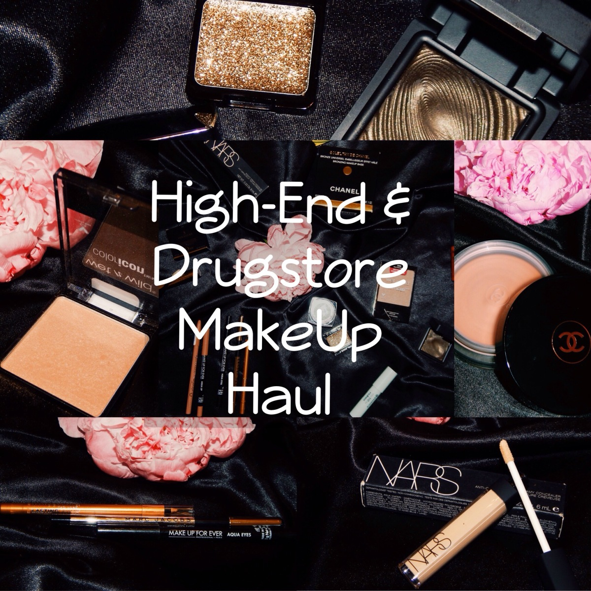 High-End & Drugstore MakeUp Haul + First Impression