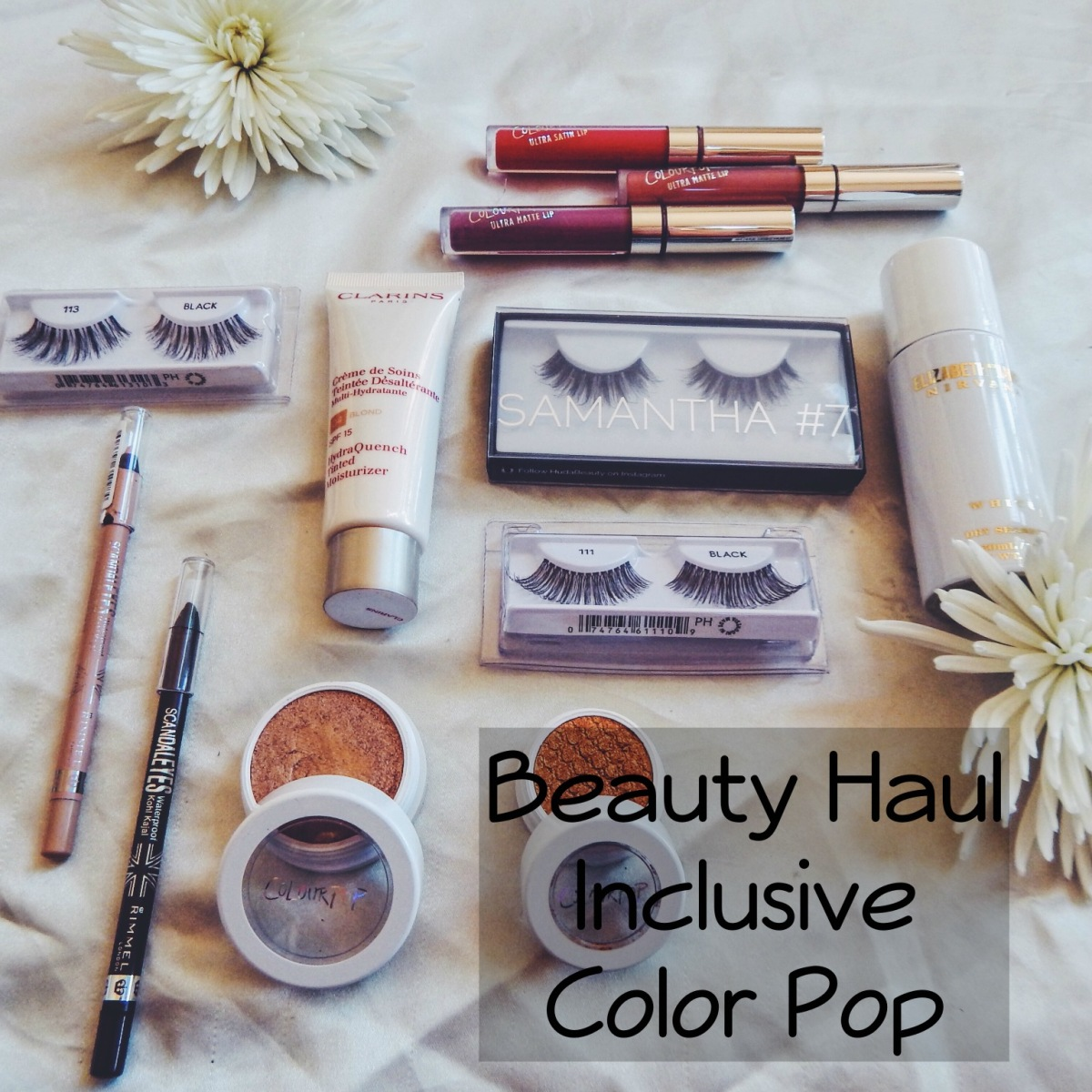 Beauty Haul incl. Color Pop